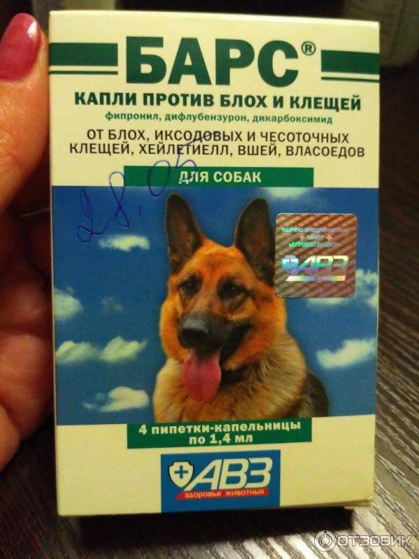 Капли барс от блох и клещей для кошек собак щенков: инструкция, отзывы, цена