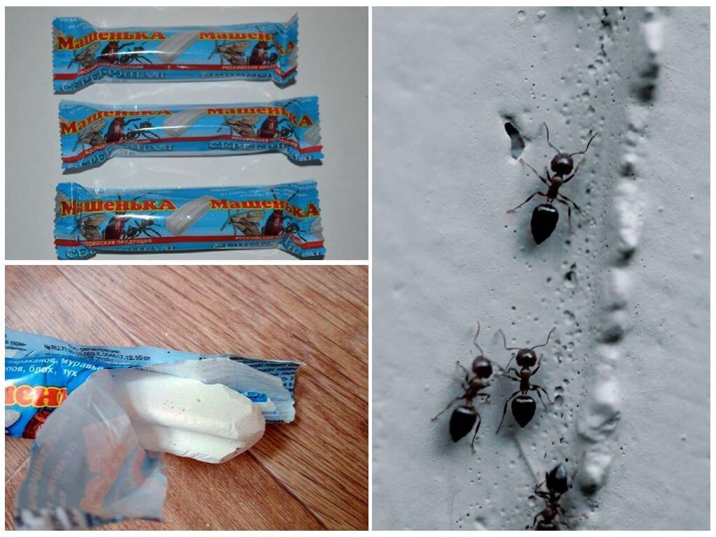 Как применять карандаш мелок машенька от тараканов, муравьев и клопов