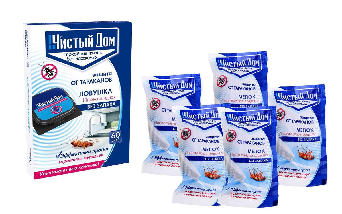 Средство от тараканов чистый дом: отзывы, инструкции и советы по использованию