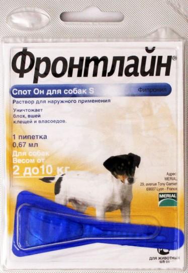 Фронтлайн для собак: быстрая борьба с блохами и клещами