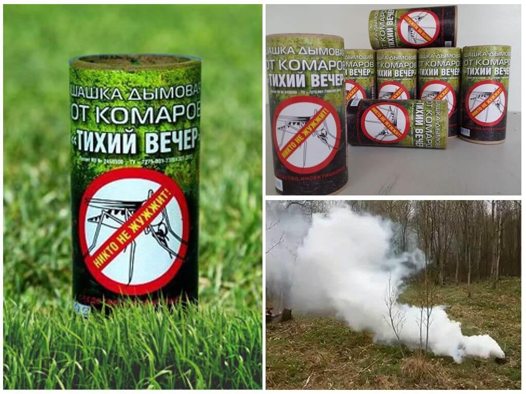 Обзор эффективных дымовых шашек от клопов: климат, сити, тихий вечер и фас