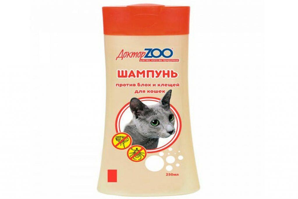 Лучшие шампуни от клещей и блох для кошек: рейтинг средств