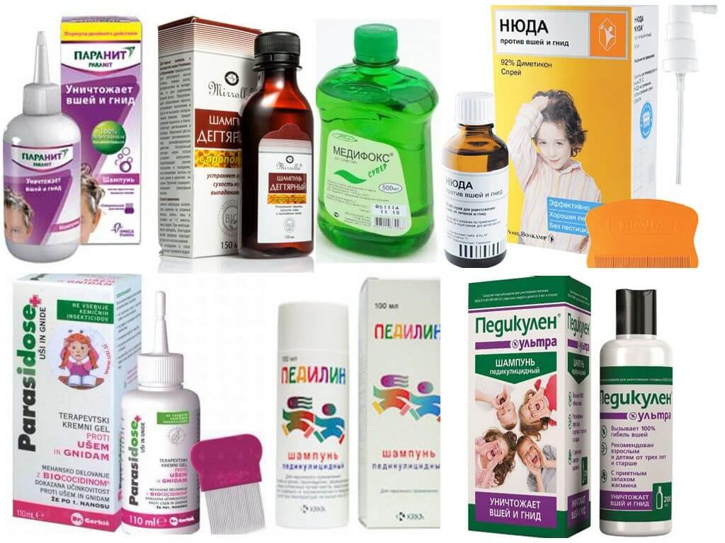 Топ-10 шампуней от педикулеза для детей и взрослых