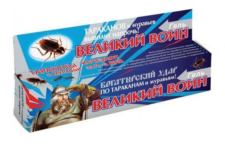 Гель от муравьев великий воин: отзывы, описание, инструкция