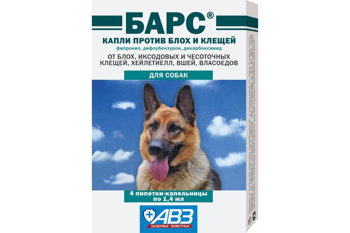 Капли от блох для собак: обзор лучших средств, действие