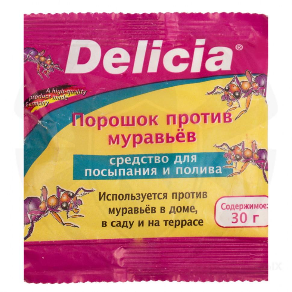 Обзор средства от муравьев делиция