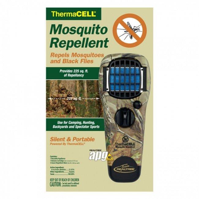 Отпугиватель thermacell от комаров – отзывы и описание