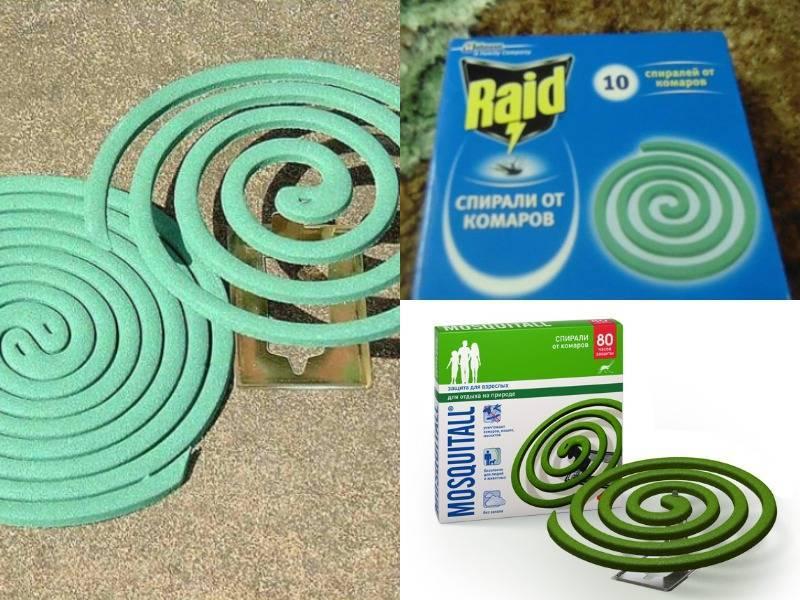 Спираль от комаров — принцип действия, эффективность защиты