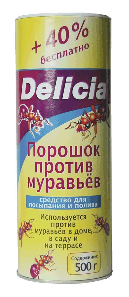 Купить delicia (делиция), 250 г порошок от насекомых
