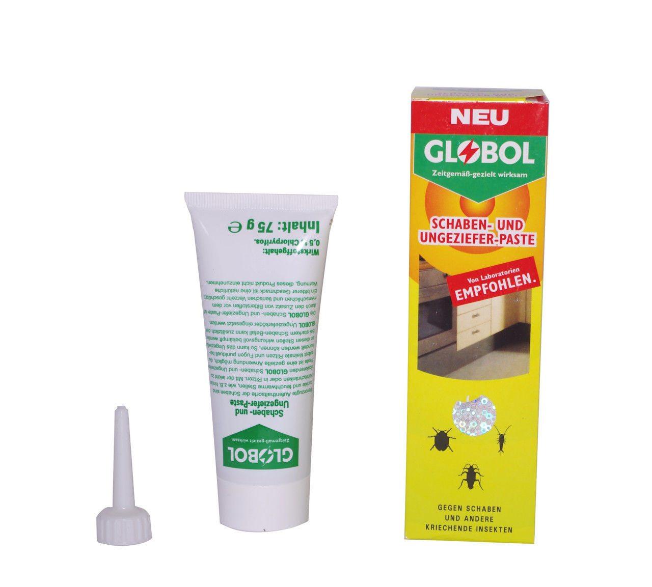Гель глобал (globol) от тараканов: описание средства-пасты, инструкция по применению и отзывы