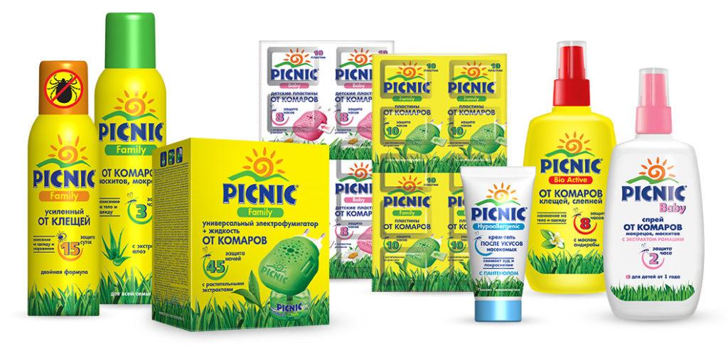Спрей picnic (пикник) от комаров - инструкция по применению, цена, отзывы