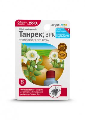 Инструкция по применению препарата «танрек» от колорадского жука