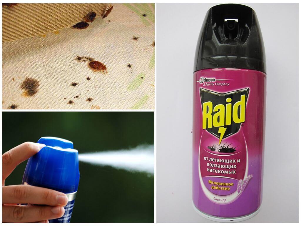 Спрей от тараканов без запаха