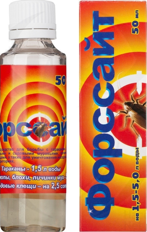 Смерть усачам! форсайт от тараканов: ловушки, гель и жидкость