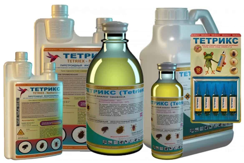 Тетрикс средство от клопов: состав и свойства препарата, инструкция по применению