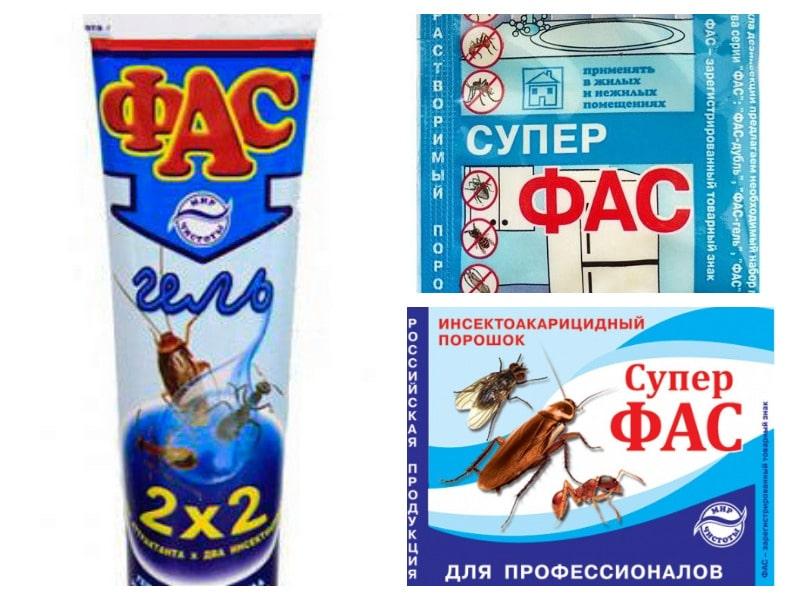 Средства фас от тараканов - отзывы и инструкция по применению