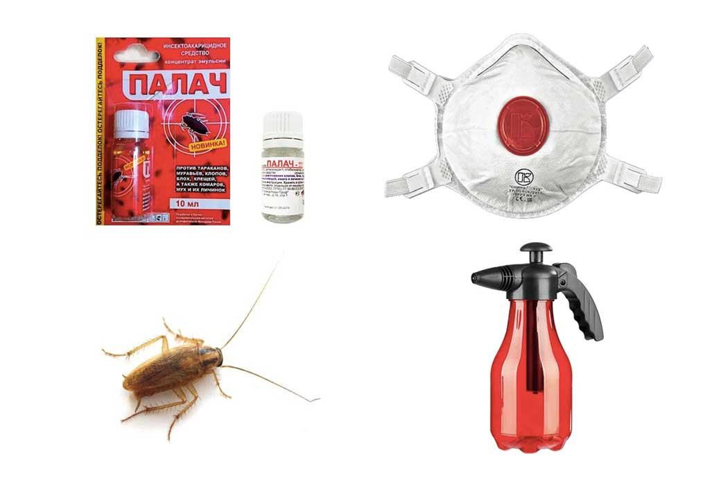 Средство от тараканов «палач»: информация о составе препарата