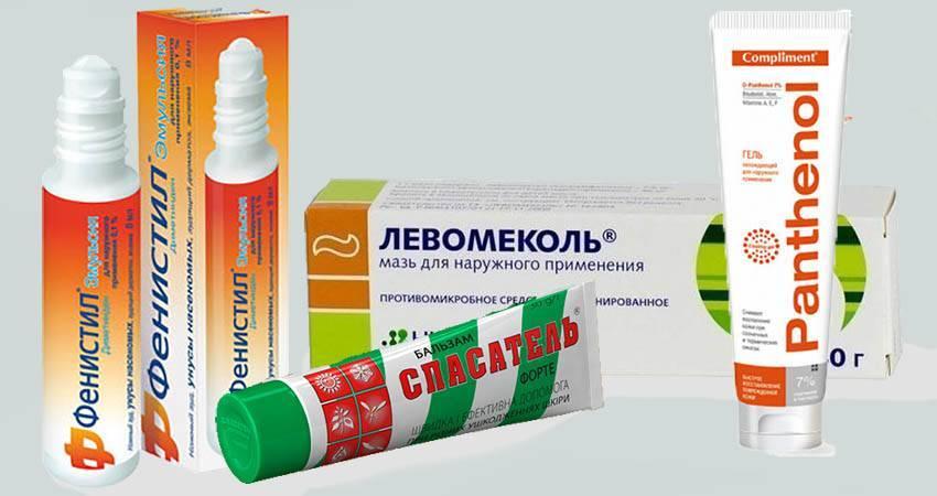 Обзор средств от укусов клопов;мази от укусов клопов