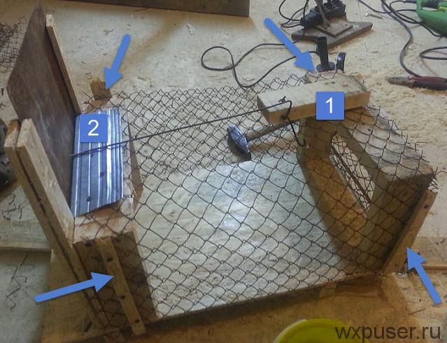 Крысоловку своими руками как сделать – инструкция