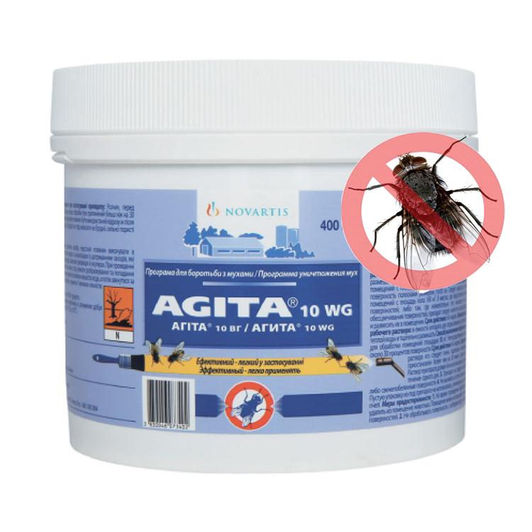 Агита от мух − инструкция по применению, отзывы