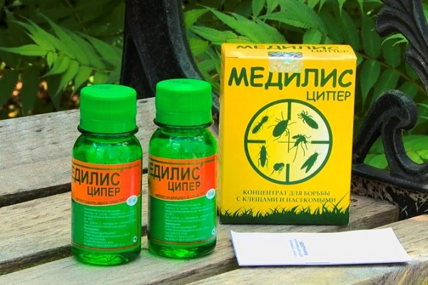 Вся правда о применении «медилис ципер» от клещей, клопов и комаров