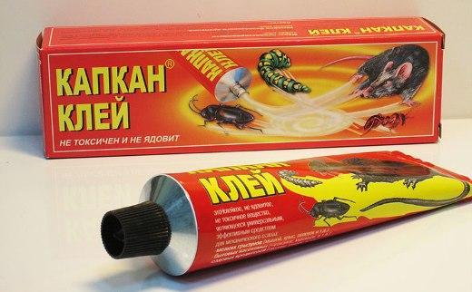 Липкая лента и клей от тараканов, как использовать и как потом отмыть клей?