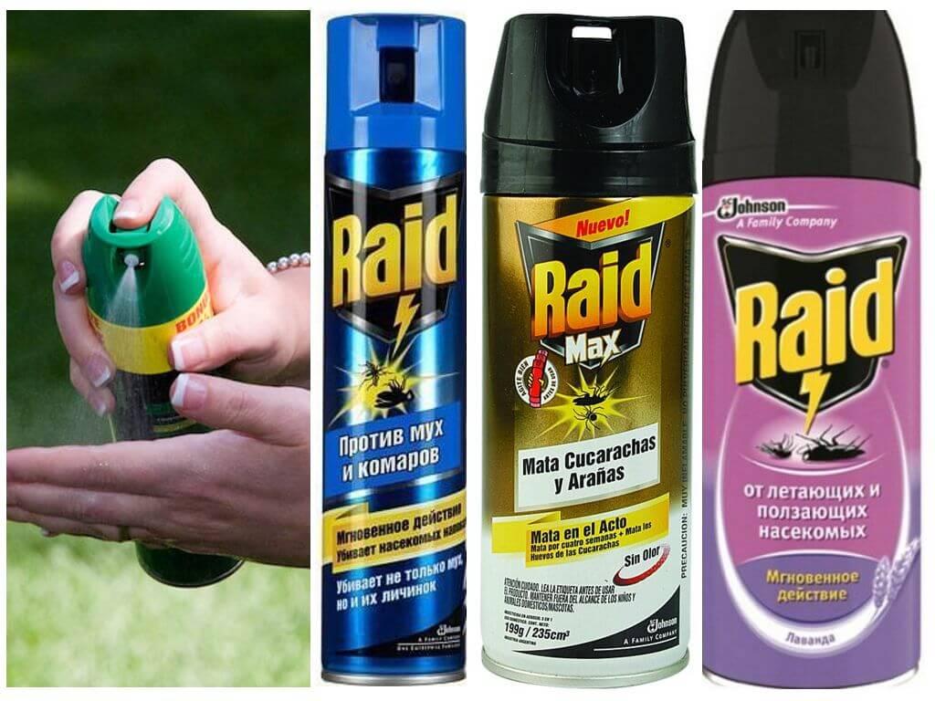 Средства рейд от комаров - отзывы и описание