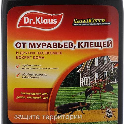 Dr klaus эжектор концентрат от муравьев и клещей - отзывы и инструкция