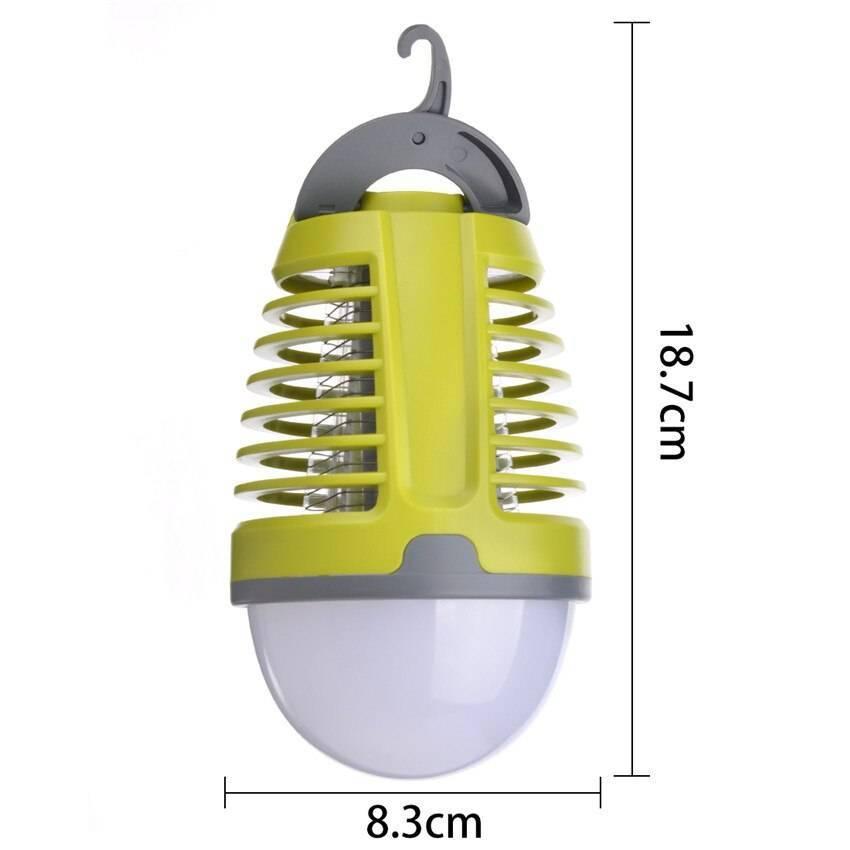 Принцип работы лампы от комаров для улицы: обзор видов и отзывы