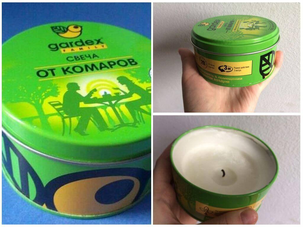 Купить gardex family, 110 г свеча от комаров