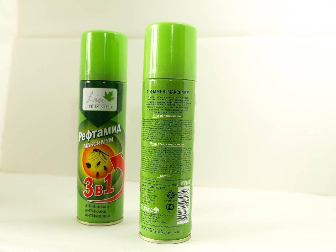 Рефтамид от насекомых: разновидности и правила применения