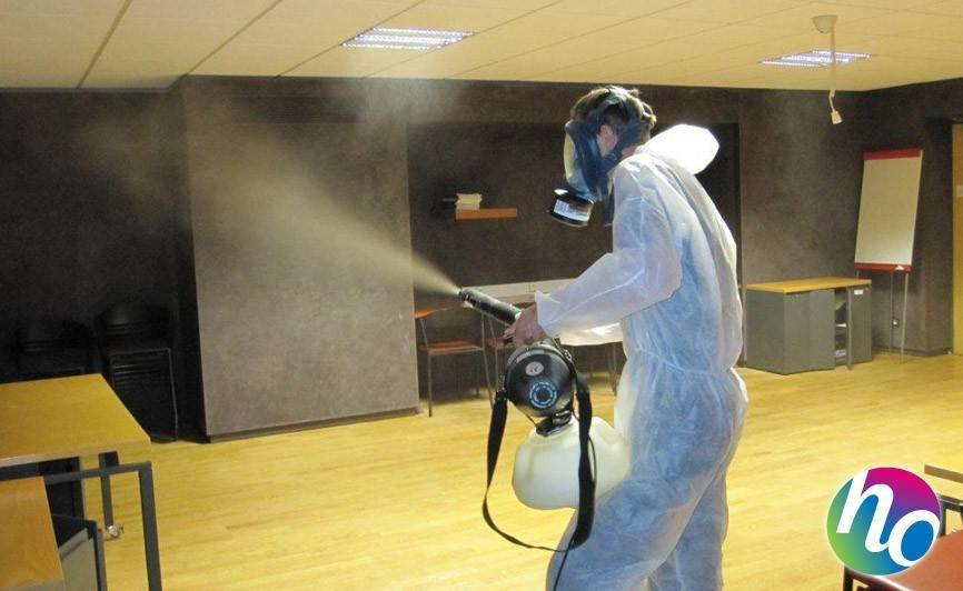 Обработка горячим туманом от тараканов