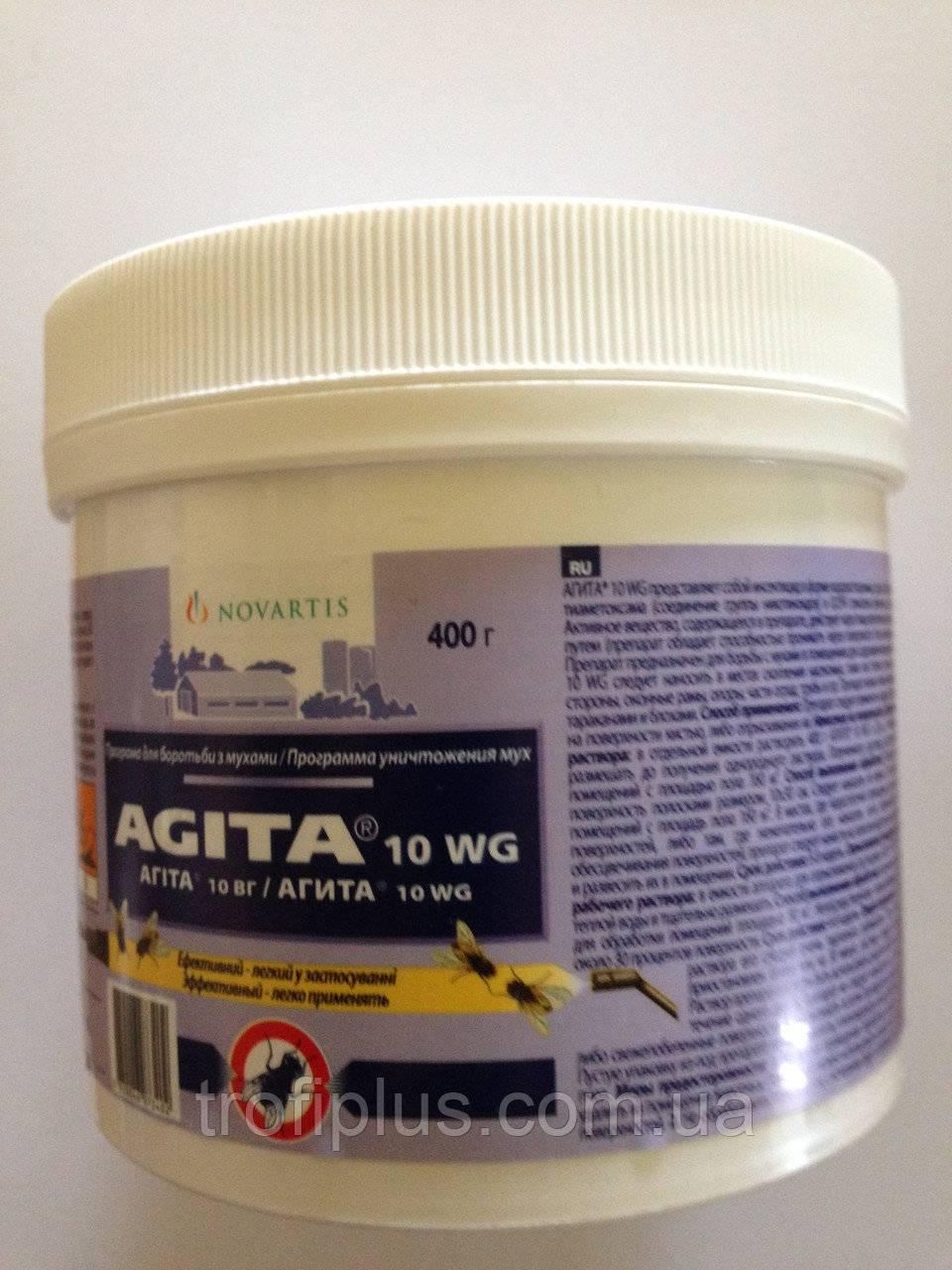 Средство агита от мух и других насекомых. применение средства агита от мух