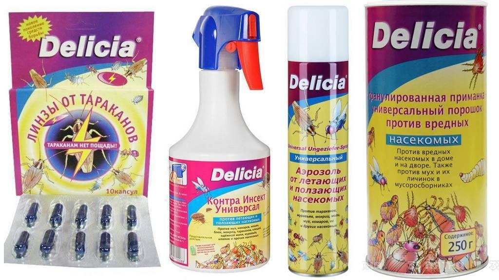 Delicia (делиция) от тараканов: описание и способ применения