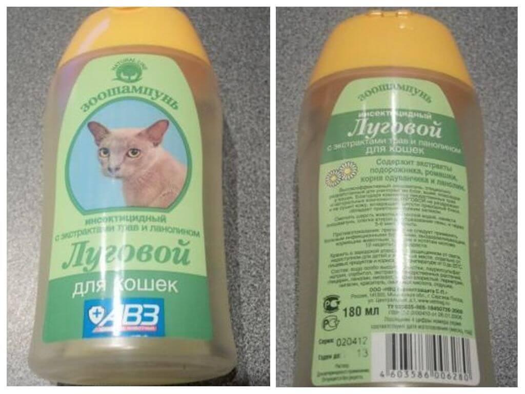 Шампуни от блох для кошек и собак: обзор средств и отзывы