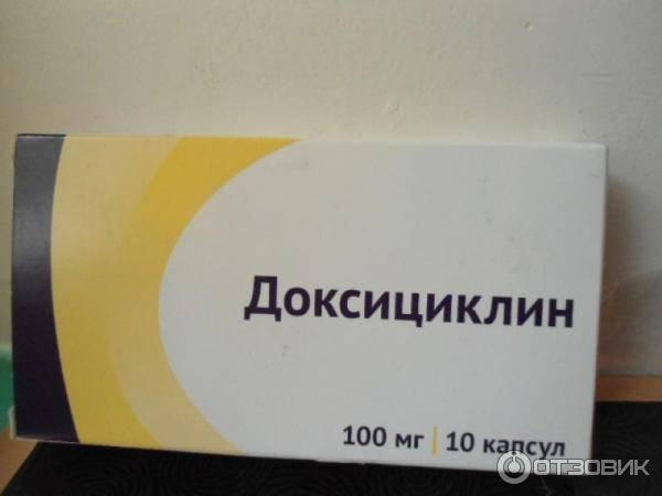 Доксициклин для профилактики и лечения боррелиоза