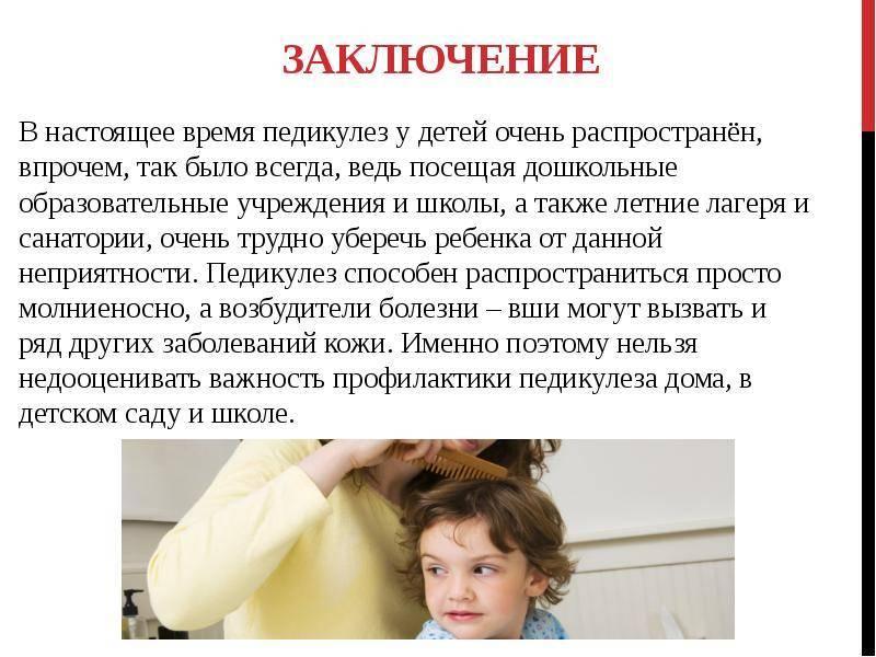 Что делать при педикулезе в детском саду?