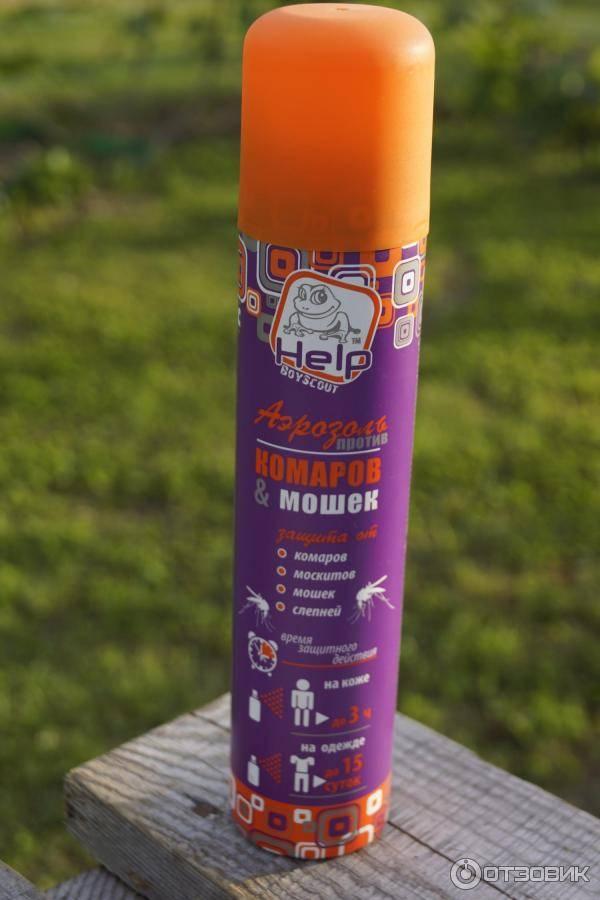 Лучшие спреи от комаров