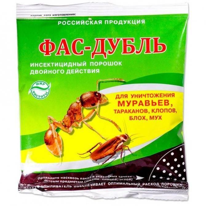Порошки от тараканов: обзор эффективных средств