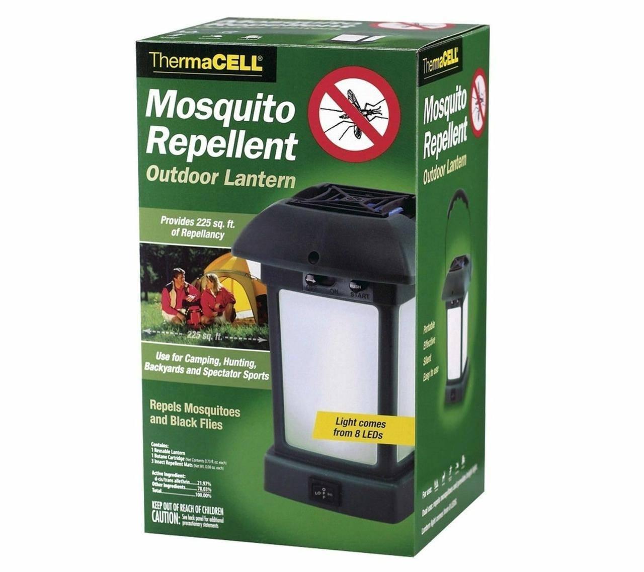 Газовый фумигатор thermacell от комаров