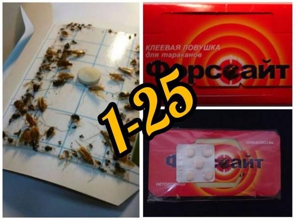 ❶ ловушка форсайт от тараканов: отзывы о клеевом домике с таблеткой и приманкой, где купить, цена, инструкция