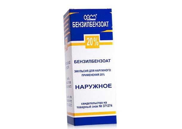 Бензилбензоат 10% – средство от кожных паразитов