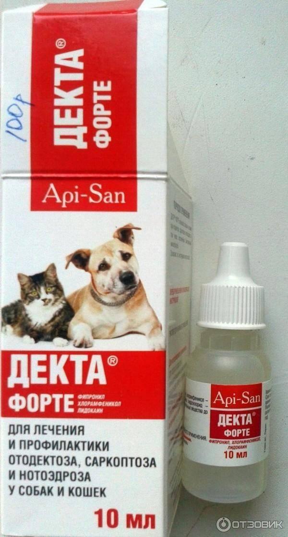 Капли для кошек от ушного клеща и другие лекарства