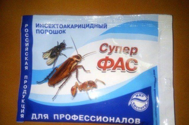 """Инструкция по применению средства """"супер фас"""" против тараканов"""