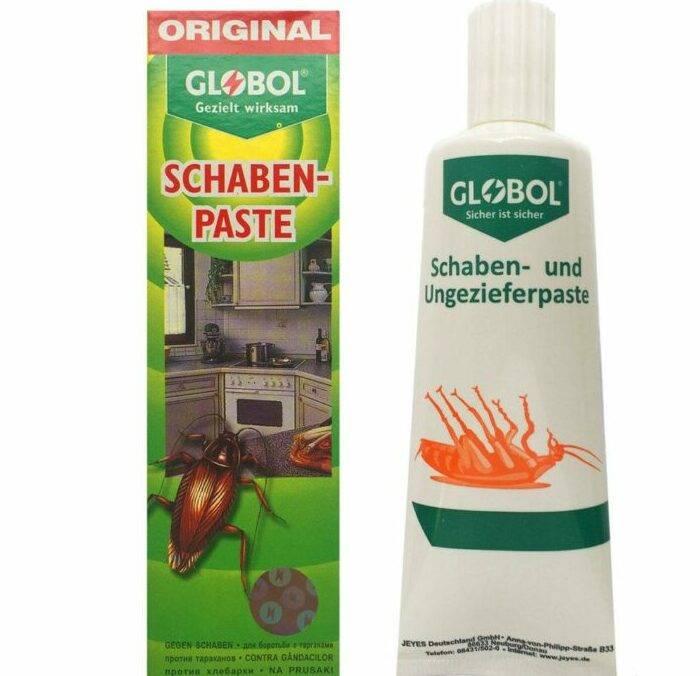Глобал от тараканов: эфективность, отзывы, инструкция по применению геля и пасты Globol