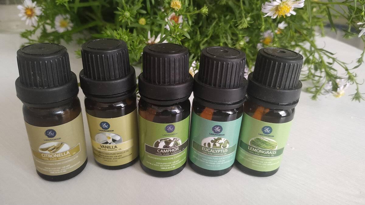 Эфирные масла от комаров: преимущества, как использовать?