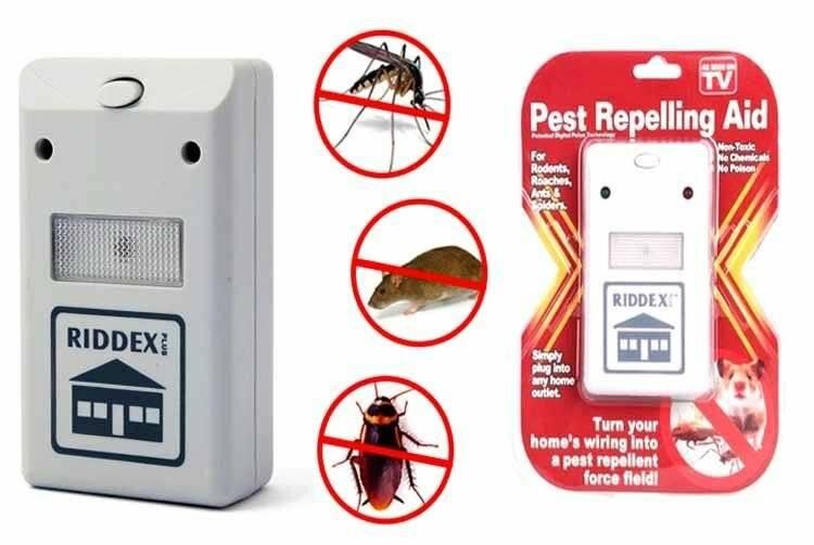 Описание и отзывы о пест репеллер от тараканов