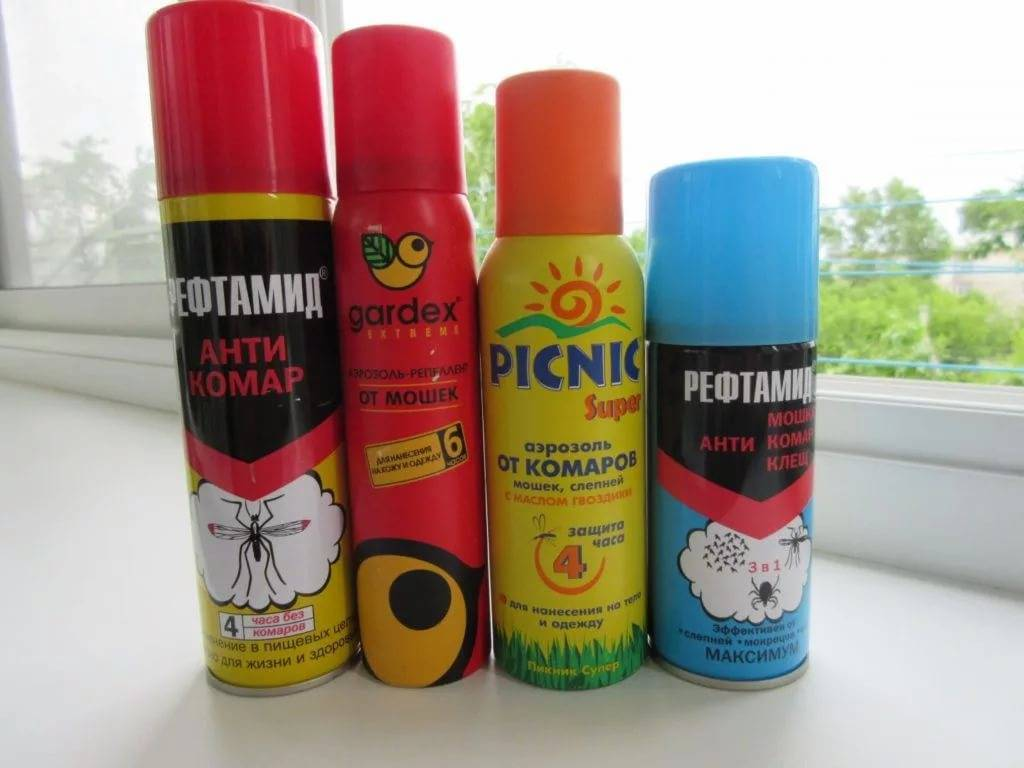 Лучшие средства от комаров