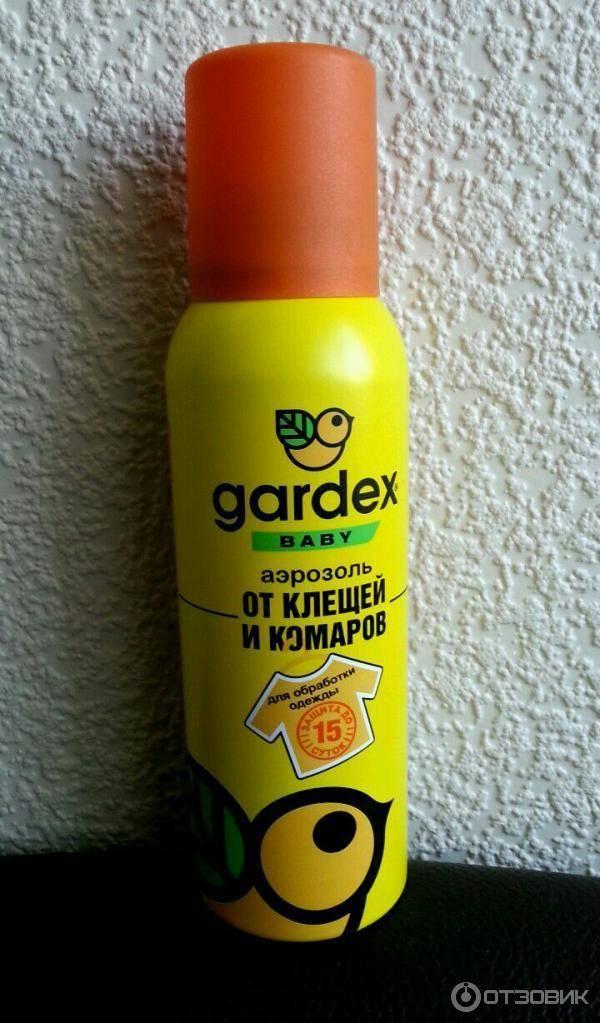 Средства gardex от комаров для детей