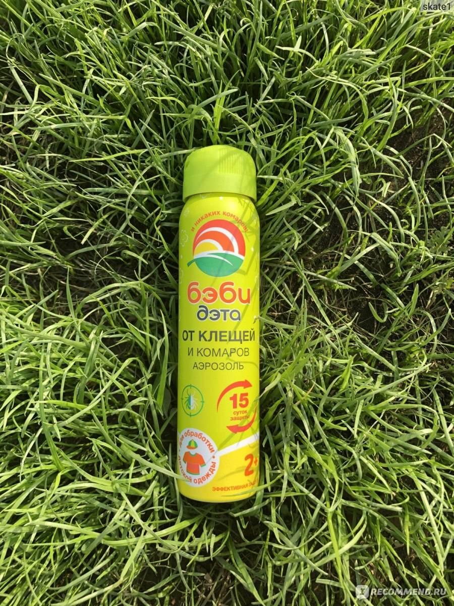 Аэрозоль и спрей офф от комаров
